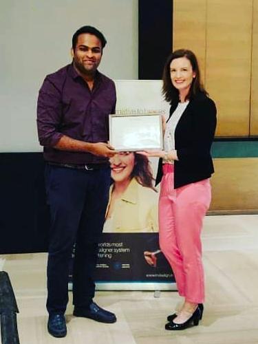 Invisalign doctor in Bangalore Dr. Vivek Aithal Orthodontist